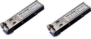 Kit Módulos Sfp Bi-direcional Wdm 1000base-bx Tl-sm321a 321b
