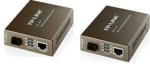 Kit Conversor De Fibra Wdm Tplink Mc111cs E Mc112cs Monomod