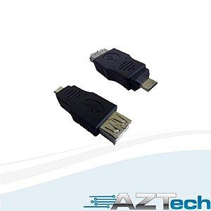 Adaptador Usb Para Micro Usb V8 F-m - Empire