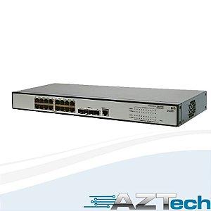 Switch Hp 1910 16 Portas 10/100/1000 4 Gigabit Sfp Je005a Br