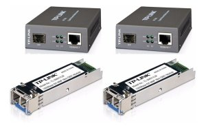 Kit Fibra Ótica Gigabit 1000 Multimodo Lc/upc Conversor Gbic