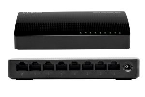 Switch 8 Portas Gigabit Sg800 Q+ Intelbras