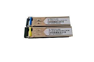 Par Transceptor Ótico Gbic 20km Lc Certificado Cisco Hp Datacom
