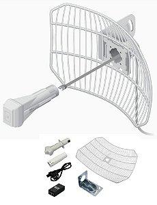 Antena Ubiquiti Airgrid Completa Airmax 5.8ghz 23dbi Branca