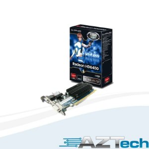 Placa De Vídeo Radeon Hd6450 1gb Ddr3 Sapphire Low Profile