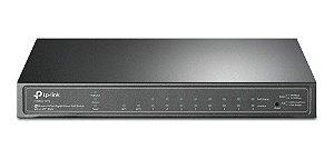 Switch Gigabit 8 portas PoE+ + 2 Portas SFP TP-LINK T1500G-10PS (SG2210P) Gerenciável L2