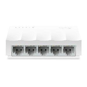 Switch  Fast Lite Wave com 5 Portas  10/100 Mbps TP-Link LS1005