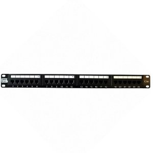 Patch Panel 24 Portas Cat 5e Furukawa T568 A/b Sohoplus