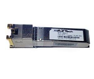 Transceptor óptico GBIC 10GBase-T Cooper SFP+ RJ45 30M p/ Mikrotik e outros