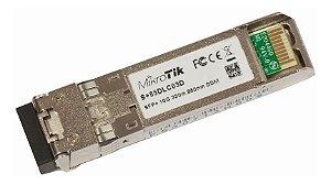 Módulo Mikrotik Gbic Sfp Conector Lc 850nm Mm S + 85dlc03d