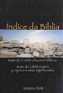 Índice da Bíblia - Mais de 17.000 citacões bíblicas