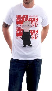 Camiseta Sir Alex Ferguson - Masculina