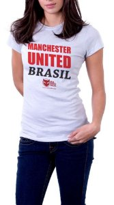 Camiseta Man. United Brasil - Feminina