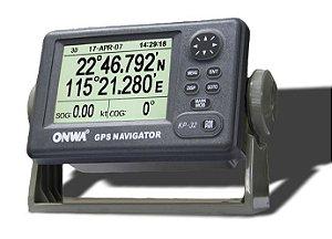 GPS Marítimo Onwa KP-32 4.5 Polegadas com Antena Externa