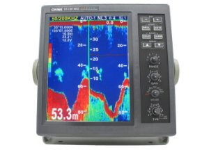 Sonar para Pesca Profissional Onwa KF-1067 + 2 Transducer 2kW cada