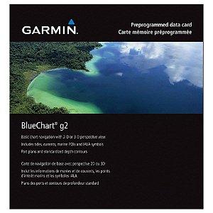 Carta Náutica Garmin Bluechart G2 HD Costa Leste HXSA001R