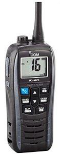 Rádio Portátil  ICOM IC-M25  Marítimo VHF 5W ( homologado Anatel )