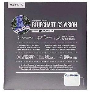 CARTA NAUTICA GARMIN- BLUECHART G3 VISION