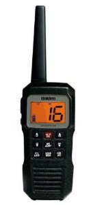 RADIO VHF, MARCA: UNIDEN, MODELO: ATLANTIS155, 1W & 2,5W, PORTATIL