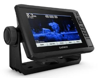 GPS Sonar Garmin ECHOMAP PLUS 72CV com transducer