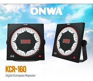 Display Gyro Compass Ou Bússola Digital Onwa Marine Kcr 160