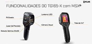 Flir Tg165-X câmera térmica termovisor pontual Infravermelho