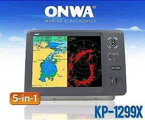 Gps 12  Carta, Sonda, Radar, Ais Kp1299x Hdmi Onwa Marine