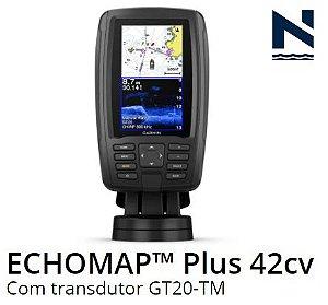GPS Sonar Garmin ECHOMAP Plus 42cv + transdutor 010-01884-01