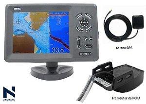 Navegador GPS SONDA Kcombo-7 transdutor de POPA Onwa Marine