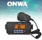 Rádio VHF Onwa Marine KV 290 homologado Anatel