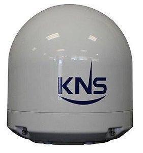 Radome Domo vazio antena KNS SuperTrack k4