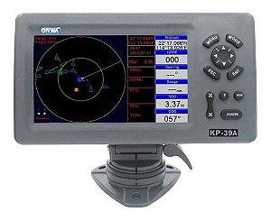 "GPS 7"" c/ transceptor AIS transmite e recebe Onwa KP-39A"