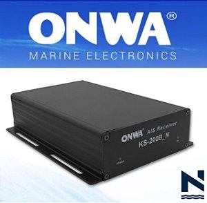 Receptor AIS Marítimo para PC via network RJ45 - KS-200B_N