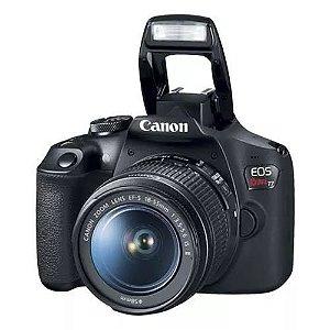 Câmera Canon EOS T7 com Lente EF-S 18-55mm f/3.5-5.6 IS STM