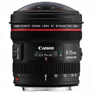 Lente Canon EF8-15MM F/4L FISHEYE USM