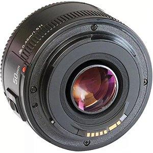 Lente Yongnuo YN-50mm f/1.8 para Canon