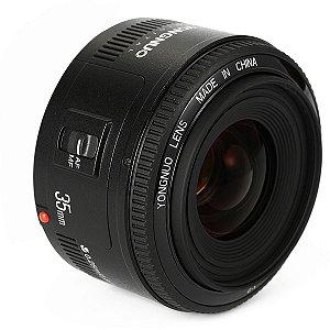 Lente Yongnuo YN-35mm f/2.0 para Nikon