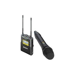 Microfone De Mão Sem Fio Sony UWP-D12 Com Receptor Portátil Sony