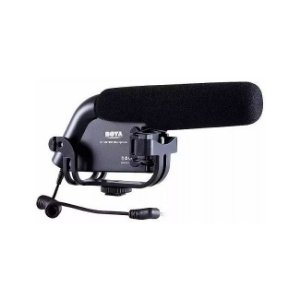 Microfone Shotgun Boya BY-VM190 BOYA