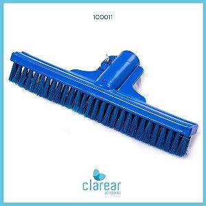 Escova de Nylon Reta Azul Cerdas Macias