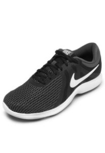 e94e6f565c6 Tênis Nike Revolution 4 Preto Branco