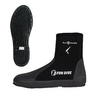 B-01 Fun Dive, Bota de neoprene 5 mm Mergulho