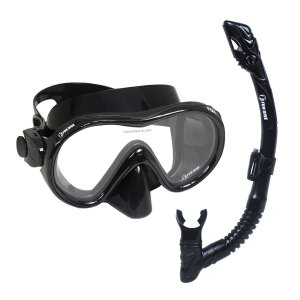Kit Dry Fox Fun Dive, Máscara Snorkel Dupla Válvula Mergulho