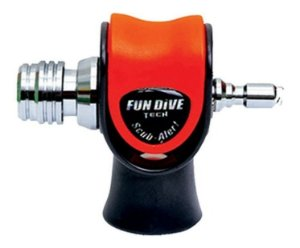 Scuba Horn Fun Dive, Apito Sonoro potente de superficie Mergulho Dive Alert