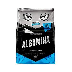 Albumina - Clara de ovo- Sabor Natural 500g - Proteína Pura