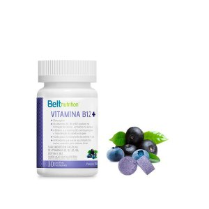 Belt B12 + Açaí Com Blueberry -  30 Pastilhas Mastigáveis - Beltnutrition