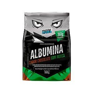 Albumina - Clara de ovo- Sabor Chocolate com Menta 500g - Proteína Pura