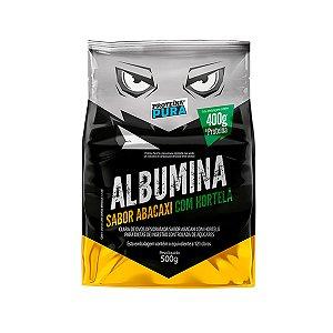 Albumina - Clara de ovo- Sabor Abacaxi com hortelã 500g - Proteína Pura