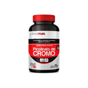 Picolinato de Cromo 60 Cápsulas - Clinic Mais