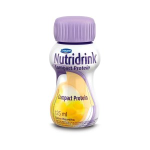 Nutridrink Compact Protein - 125 ml - Sabor Baunilha - Danone
